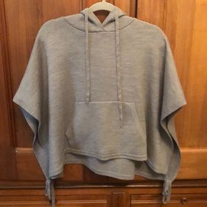 Lululemon All Day Hooded Poncho OS